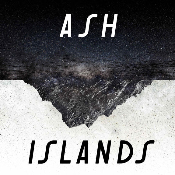Ash: Islands: Metallic Silver Vinyl + Signed Lyric Sheet