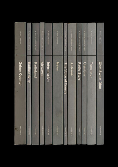 Kraftwerk: 'Radio-Activity' Album As Books Art Print