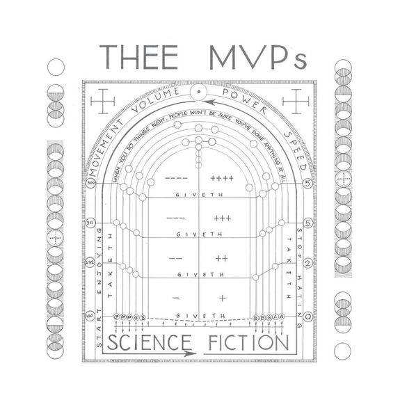 Thee MVPs: Science Fiction: Exclusive Signed CD