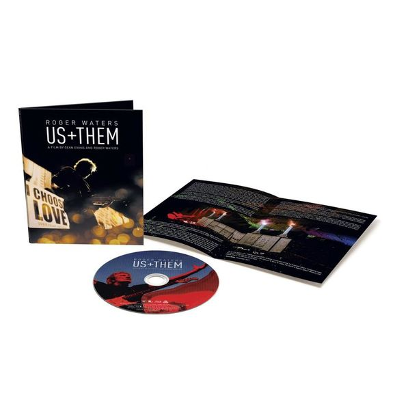 Roger Waters: Us + Them: Blu-Ray