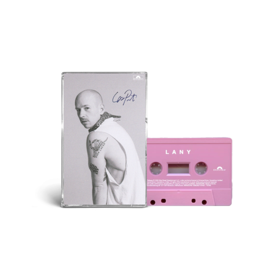 """LANY: """"mama's boy"""" collectible cassette 4/4: les SIGNED"""