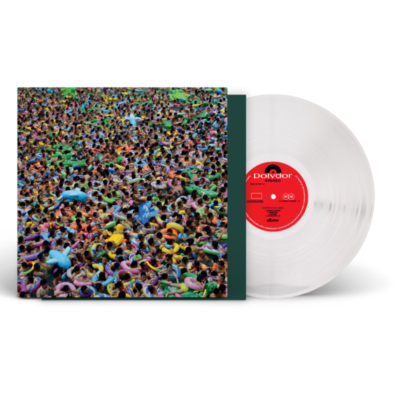Elbow: Giants Of All Sizes Limited Heavyweight Clear Vinyl (Store Exclusive)