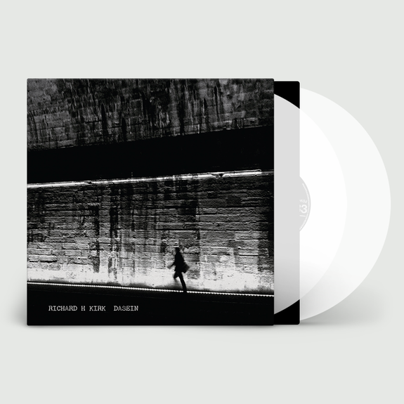 Richard H. Kirk: Dasein: Signed Limited Edition Clear Vinyl
