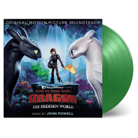 Original Soundtrack: How To Train Your Dragon 3: Dragon Green Double Vinyl