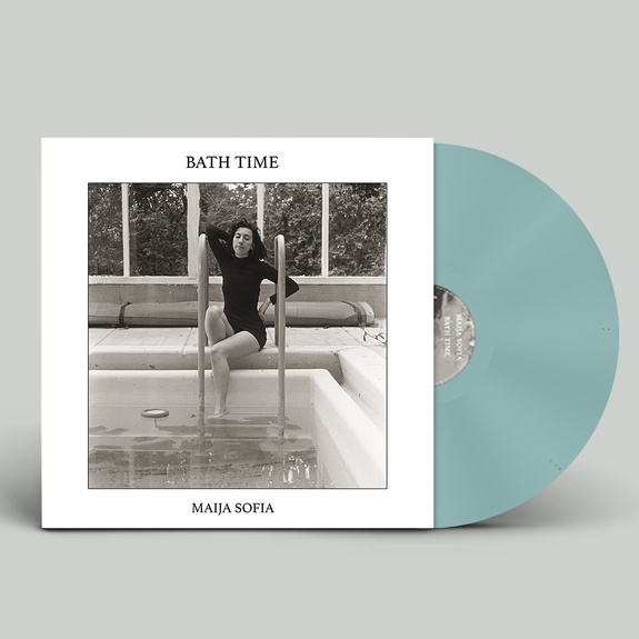Maija Sofia: Bath Time: Exclusive Signed Bath Water Blue Vinyl
