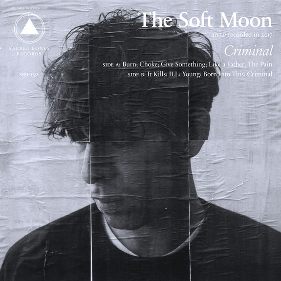 The Soft Moon: Criminal: Clear Vinyl