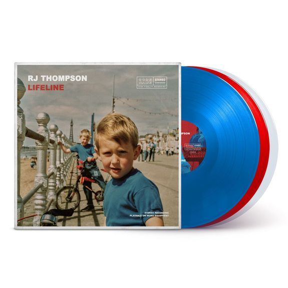 RJ Thompson: Lifeline: Signed Deluxe Tricolour Vinyl with Augmented Reality Experience