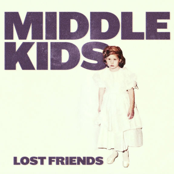Middle Kids: Lost Friends: Lilac Vinyl + Signed Postcard