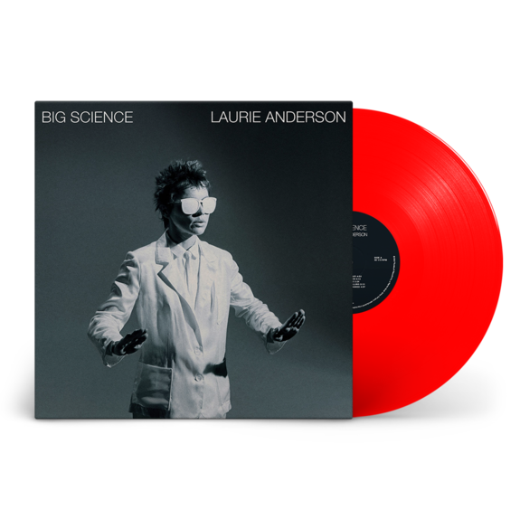 Laurie Anderson: Big Science: Limited Edition Heavyweight Red Vinyl