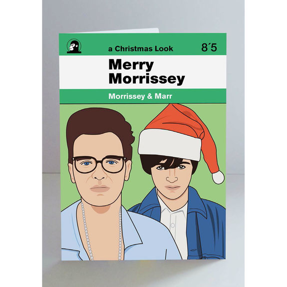The Smiths: Morrissey & Marr Christmas Card