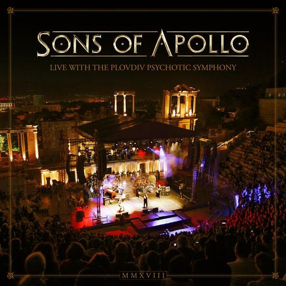 Sons of Apollo: Live With the Plovdiv Psychotic Symphony: Special Edition 3CD + DVD