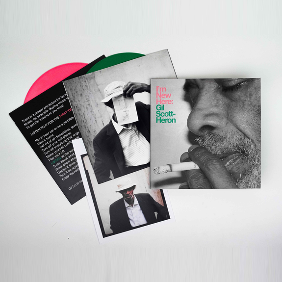 Gil Scott-Heron: I'm New Here: 10th Anniversary Expanded Edition Green + Pink Vinyl