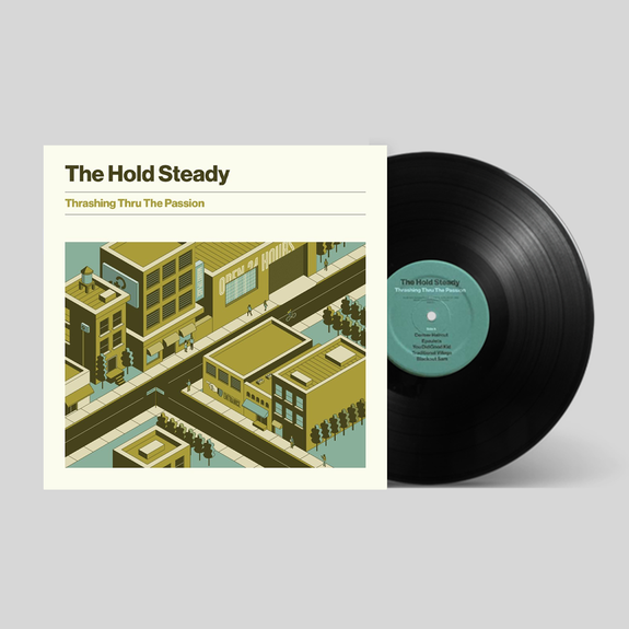 The Hold Steady: Thrashing Thru The Passion: Exclusive Signed Vinyl