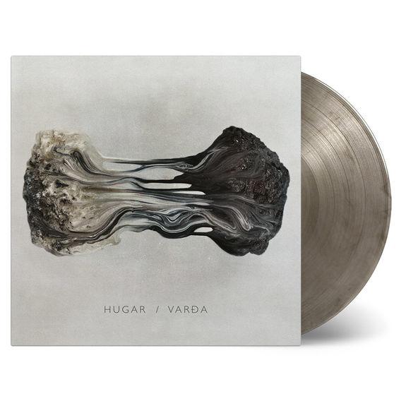 Hugar: Varda: Black + Transparent Swirl Vinyl