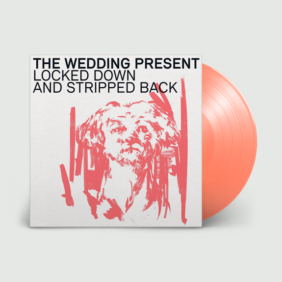 The Wedding Present: Locked Down & Stripped Back: Signed Neon Orange Vinyl + CD