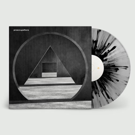 Preoccupations: New Material: Limited Edition Grey + Black Splatter Vinyl