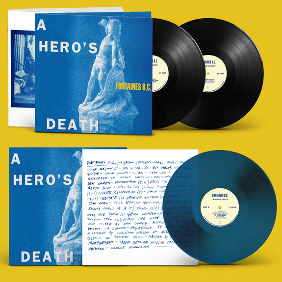 FONTAINES D.C.: A Hero's Death: Limited Edition Vinyl Bundle + Exclusive Signed Print