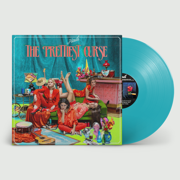 Hinds: The Prettiest Curse: Limited Edition Light Blue Vinyl + Exclusive Signed Print