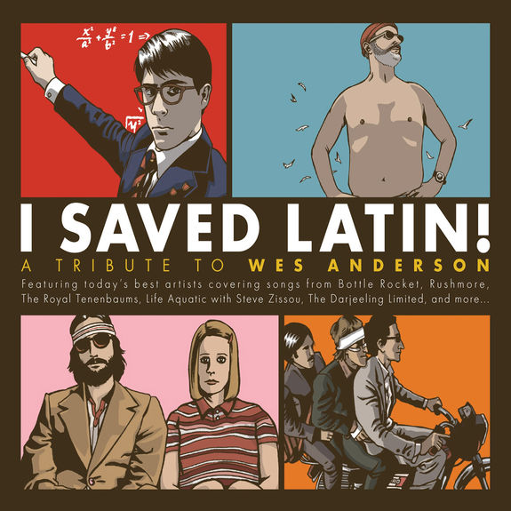 Various Artists: I Saved Latin! A Tribute to Wes Anderson: Translucent Gold/Translucent Red  Vinyl