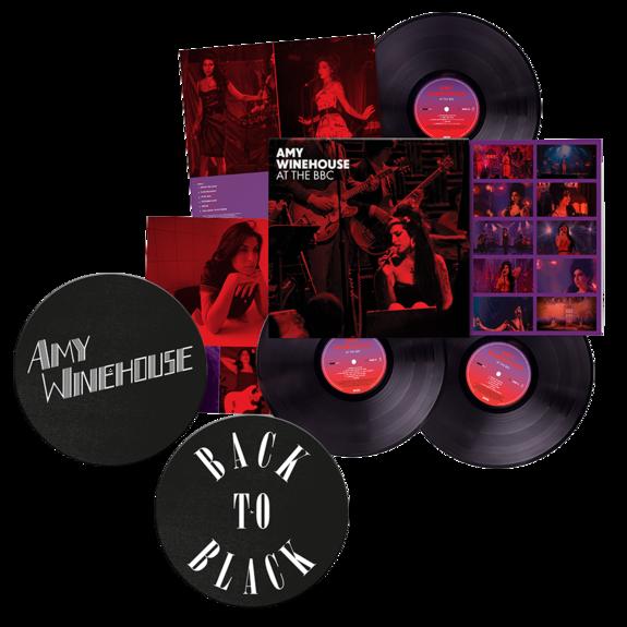 Amy Winehouse: At The BBC: Triple Vinyl + Back to Black Slipmat