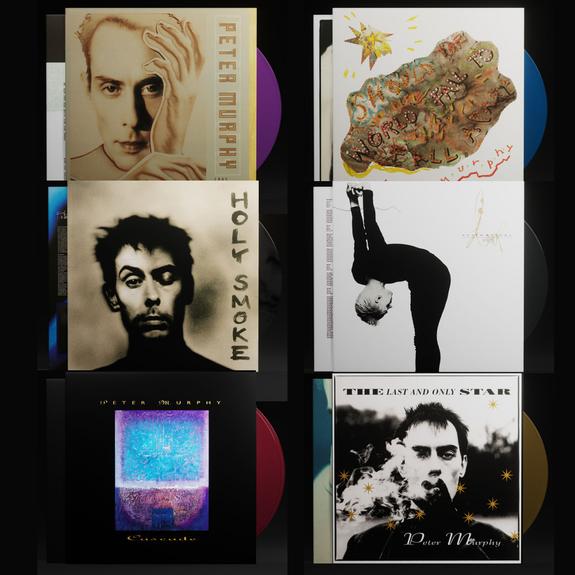 Peter Murphy: The Studio Albums + Rarities: Limited Edition Colour Vinyl Bundle