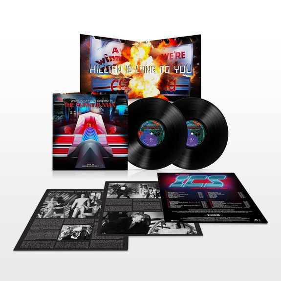 Harold Faltermeyer: The Running Man: Deluxe Edition Double Vinyl