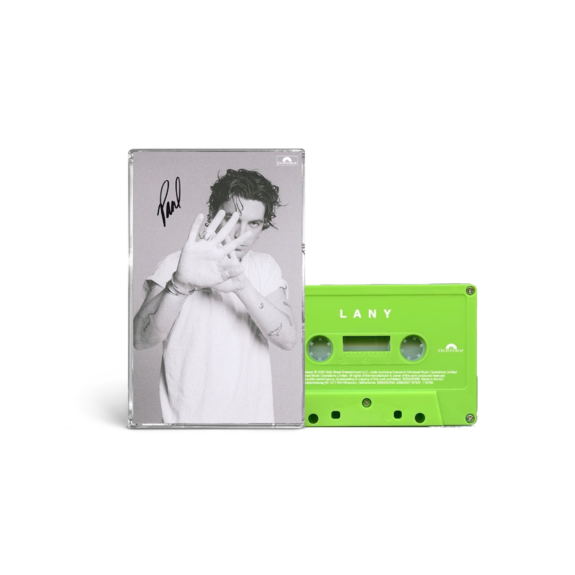 """LANY: """"mama's boy"""" collectible cassette 3/4: paul SIGNED"""