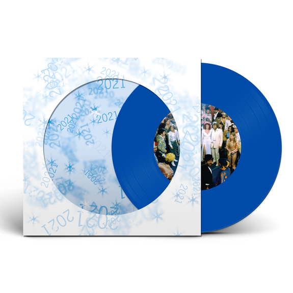 Abba: Happy New Year: Limited Edition Clear Blue Vinyl