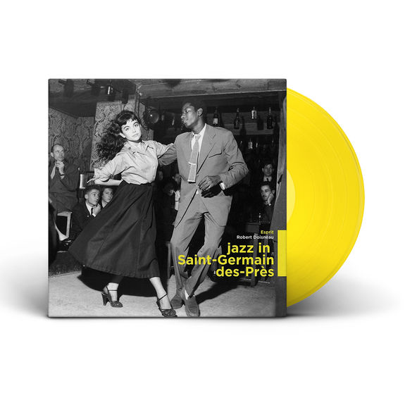Various Artists: Jazz in St Germain des Prés: Limited Edition Yellow Vinyl