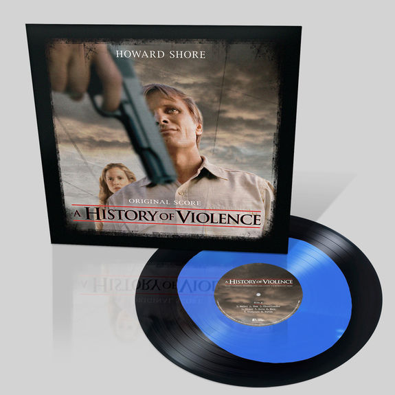 Original Soundtrack: A History Of Violence: Blue & Black Vinyl