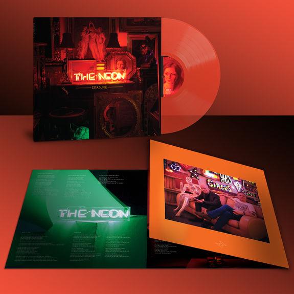 Erasure: The Neon: Limited Edition Neon Orange Vinyl