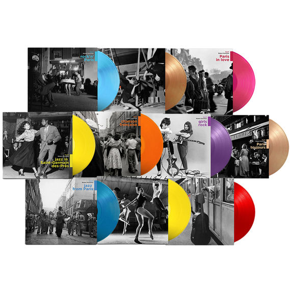 Various Artists: The Doisneau Collection: 10x Coloured Vinyl Bundle