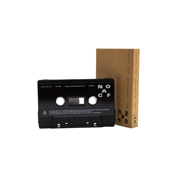 The 1975: NOTES ON A CONDITIONAL FORM – RECYCLED PLASTIC BLACK CASSETTE