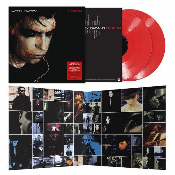 Gary Numan: Hybrid: Limited Edition Gatefold Double Red Vinyl
