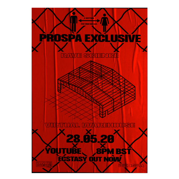 Prospa: Virtual Warehouse Poster - Red