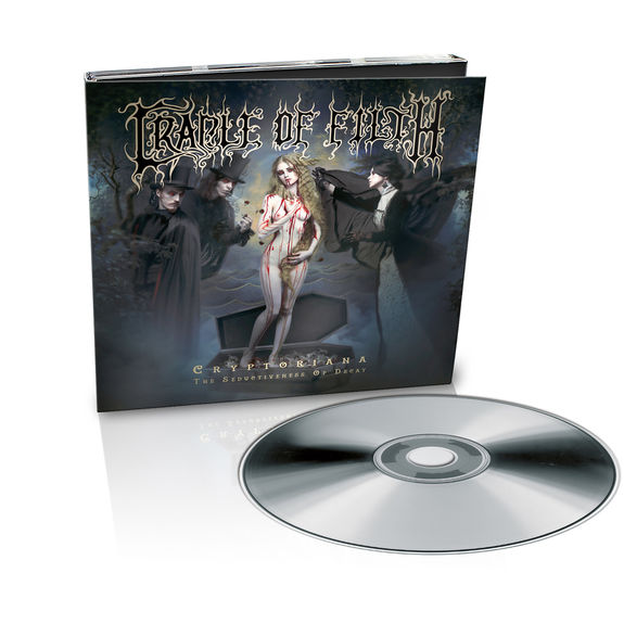 Cradle Of Filth: Cryptoriana – The Seductiveness Of Decay: Ltd Edition Digipak