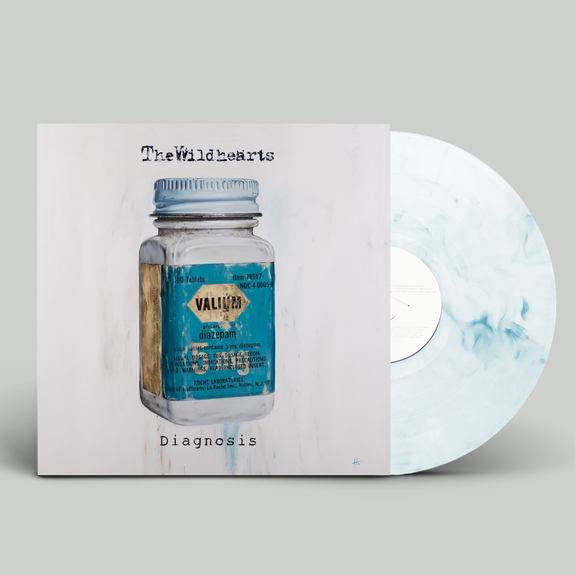 The Wildhearts: Diagnosis: Limited Edition Clear + Blue Splatter Vinyl