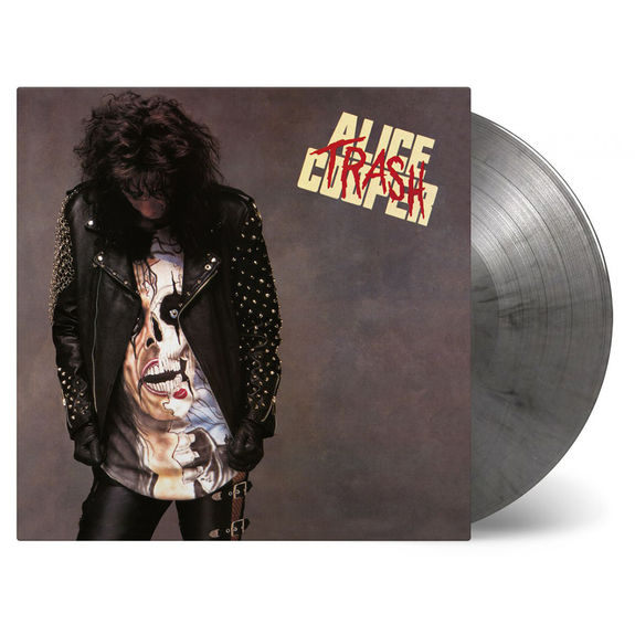Alice Cooper: Trash: Silver & Black Marbled Vinyl