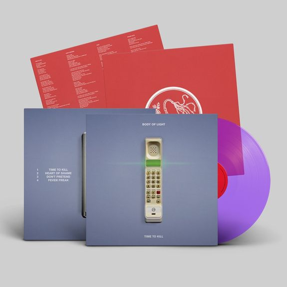Body Of Light: Time To Kill: Limited Edition Clear Purple Vinyl