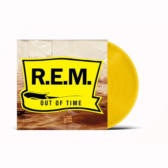 R.E.M.: Out Of Time: Exclusive Yellow Vinyl