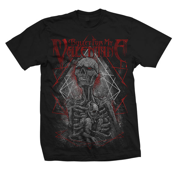 Bullet For My Valentine: Skeleton T-Shirt