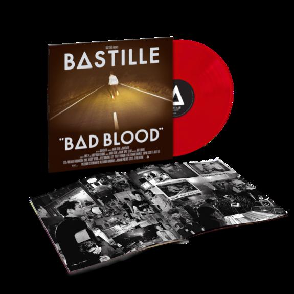 Bastille: Bad Blood: Exclusive Red Vinyl