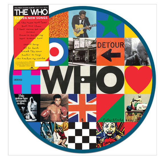 The Who: WHO Picture Disc - UK Exclusive