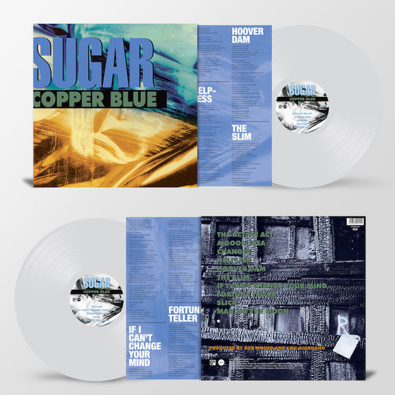 Sugar: Copper Blue: Limited Edition Heavyweight Clear Vinyl