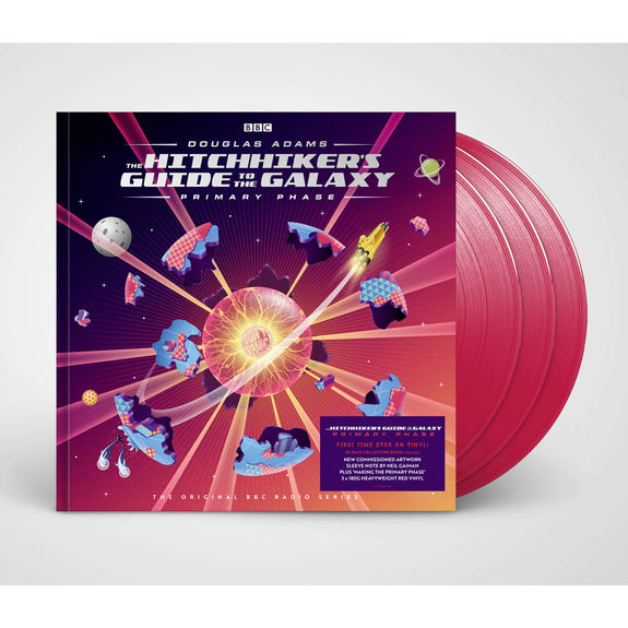 Various Artists: Hitchhikers Guide To The Galaxy: Primary Phase: Triple Coloured Hardback Book Vinyl