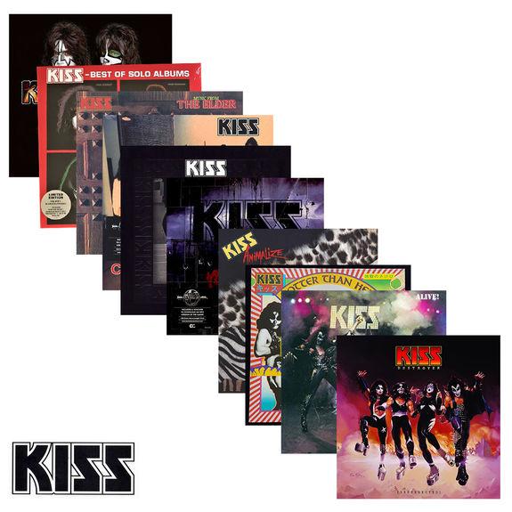 Kiss: KISS: German Version Ten Album Bundle