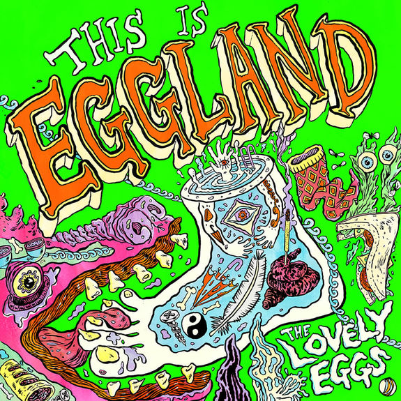 The Lovely Eggs : This Is Eggland: Signed
