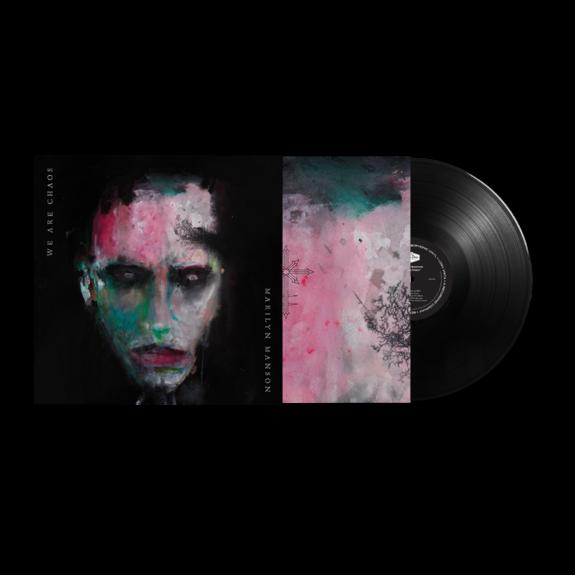Marilyn Manson: WE ARE CHAOS: Black Vinyl