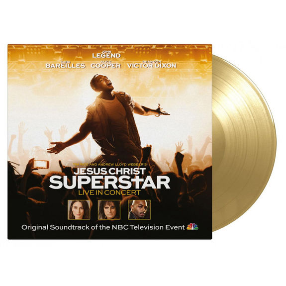 Original Soundtrack: Jesus Christ Superstar Live In Concert: Gold Numbered Double LP