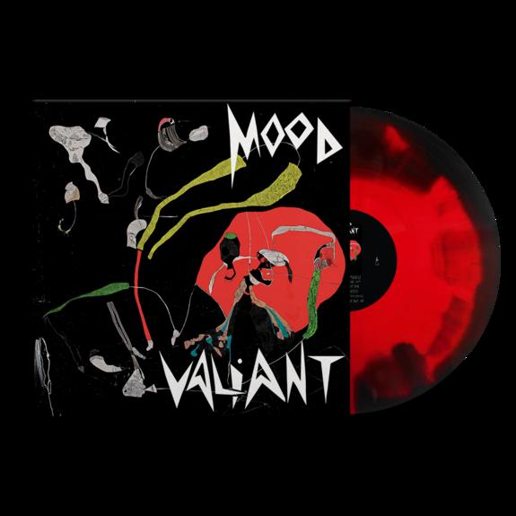 Hiatus Kaiyote: Mood Valiant: Limited Edition Red + Black Inkspot Vinyl LP